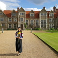 Haylin in front of Loseley House